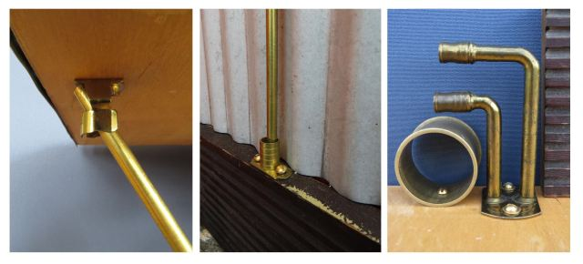 Curtain rod montage