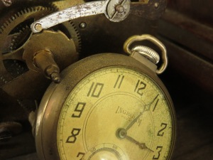 time closeup