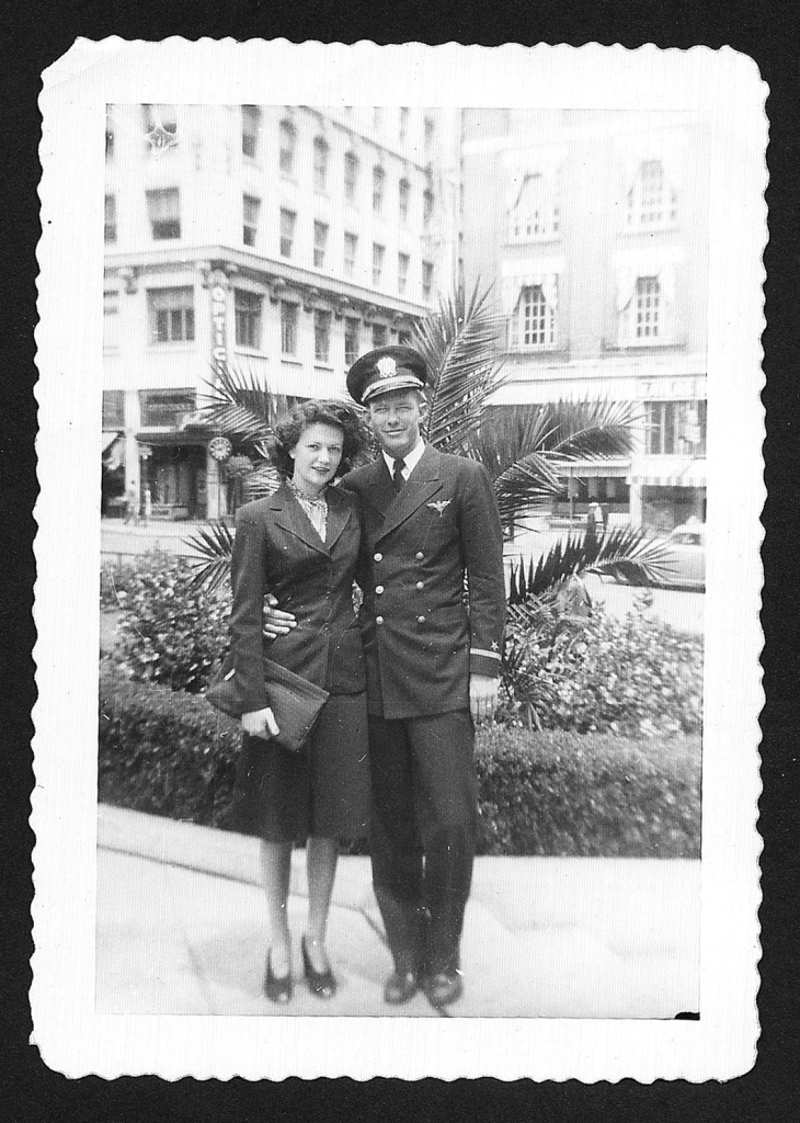 Mom and Dad 1945